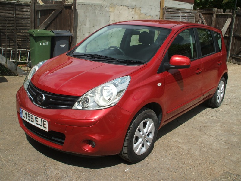nissan note 1.6 acenta #6
