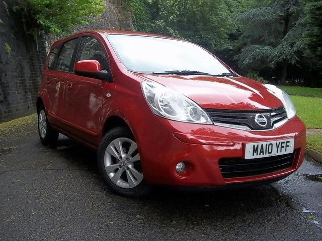 nissan note 1.6 acenta #7