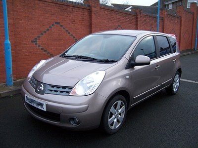 nissan note 1.6 acenta