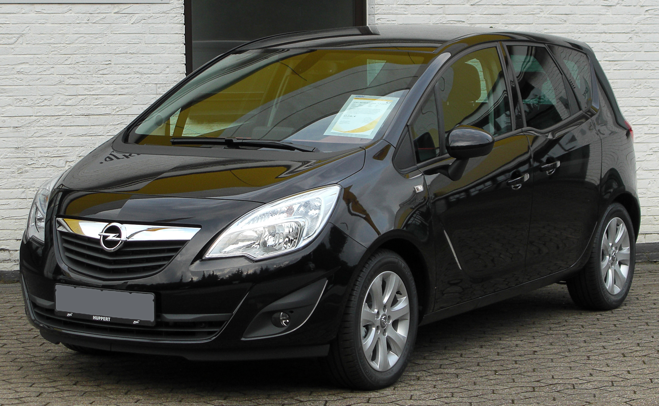 opel meriva 1 3 cdti photos and comments. Black Bedroom Furniture Sets. Home Design Ideas