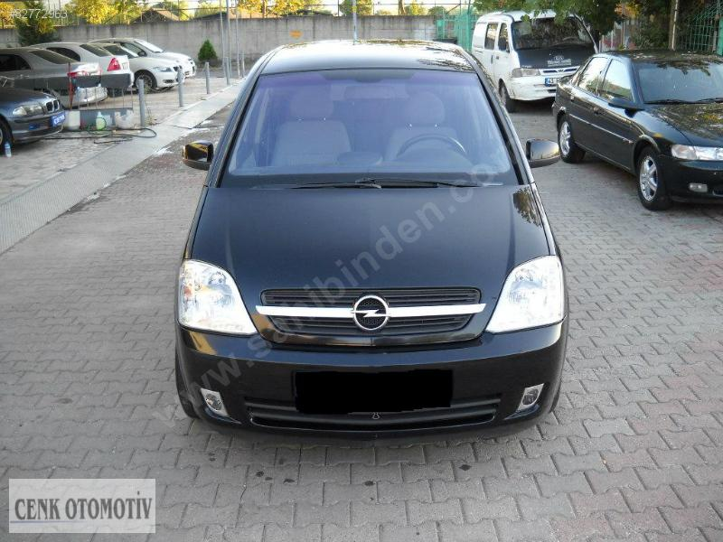 opel meriva 1 6 cosmo photos and comments. Black Bedroom Furniture Sets. Home Design Ideas