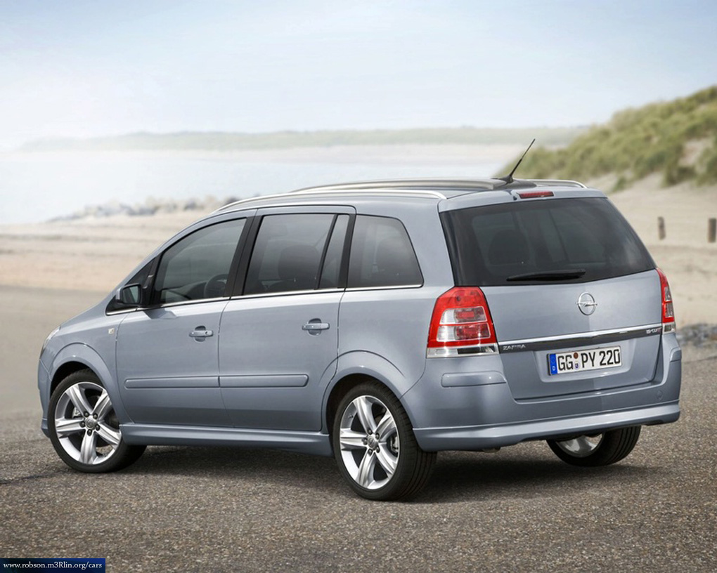 opel zafira 2 0 photos and comments. Black Bedroom Furniture Sets. Home Design Ideas
