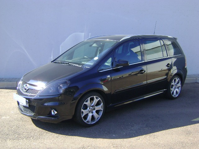 opel zafira 2 0 opc photos and comments. Black Bedroom Furniture Sets. Home Design Ideas