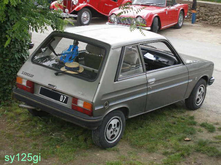 peugeot 104 style z-pic. 3
