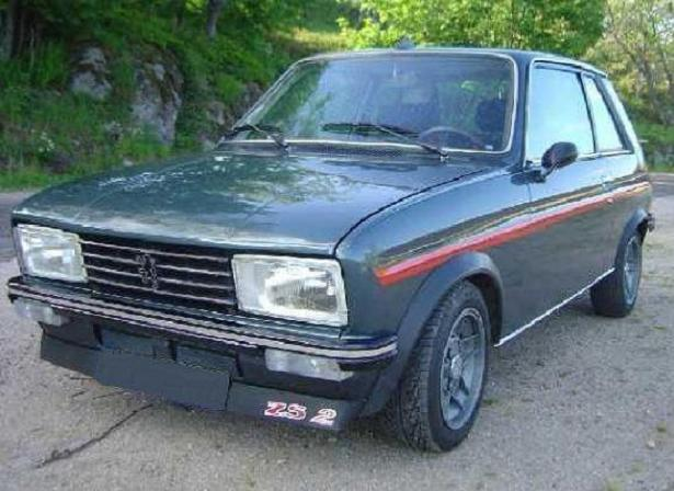 peugeot 104 zs2 photos and comments. Black Bedroom Furniture Sets. Home Design Ideas