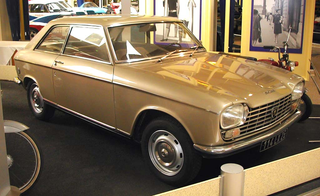 peugeot 204 coupe-pic. 1