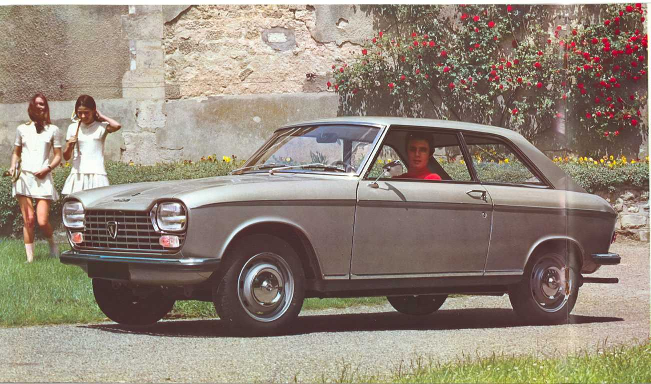 peugeot 204 coupe photos and comments. Black Bedroom Furniture Sets. Home Design Ideas