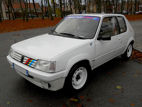 peugeot 205 1 3 rallye photos and comments. Black Bedroom Furniture Sets. Home Design Ideas