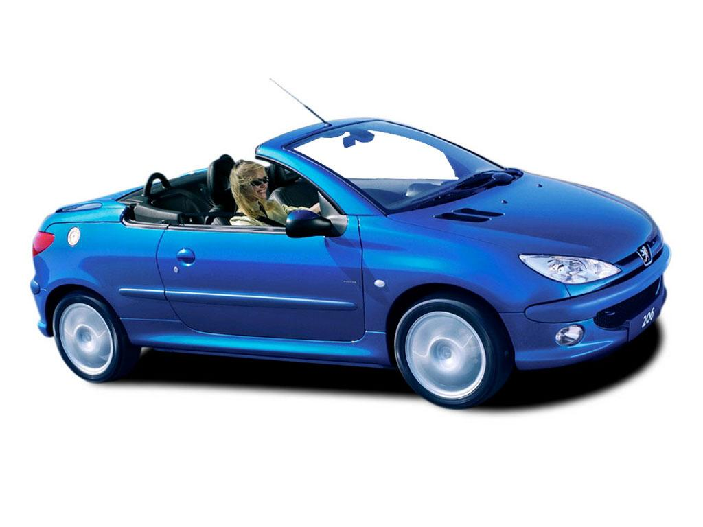 peugeot 206 1 6 coupe cabriolet photos and comments. Black Bedroom Furniture Sets. Home Design Ideas