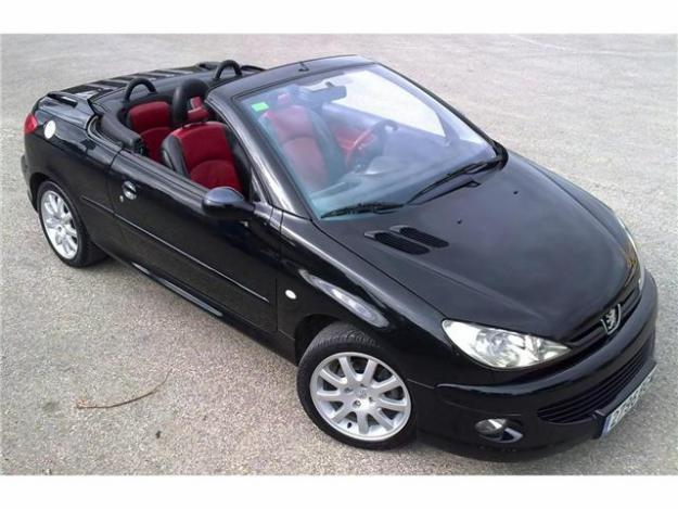 peugeot 206 cc 2 0 photos and comments. Black Bedroom Furniture Sets. Home Design Ideas