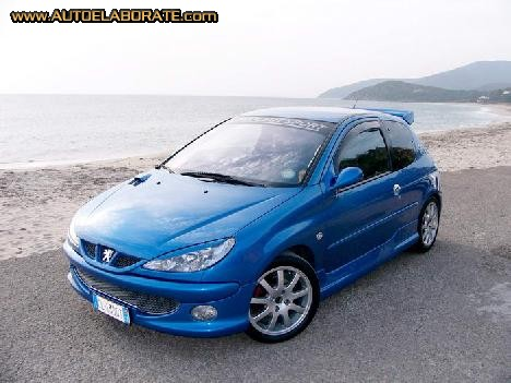 peugeot 206 xs 1 4 photos and comments. Black Bedroom Furniture Sets. Home Design Ideas
