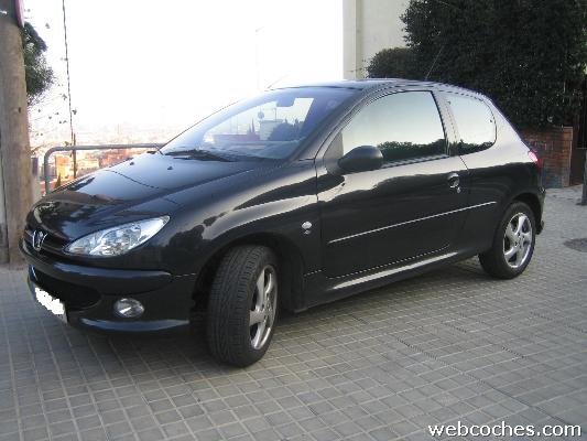 peugeot 206 xs 1 6 photos and comments. Black Bedroom Furniture Sets. Home Design Ideas