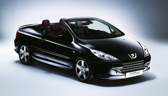 peugeot 307 cc 180 sport photos and comments. Black Bedroom Furniture Sets. Home Design Ideas