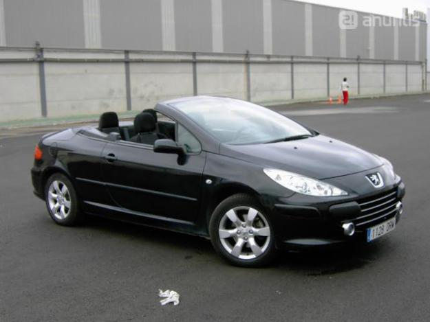 peugeot 307cc 1 6 photos and comments. Black Bedroom Furniture Sets. Home Design Ideas