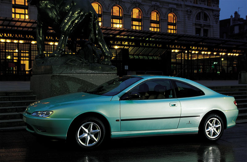 peugeot 406 coupe 2.2 #4