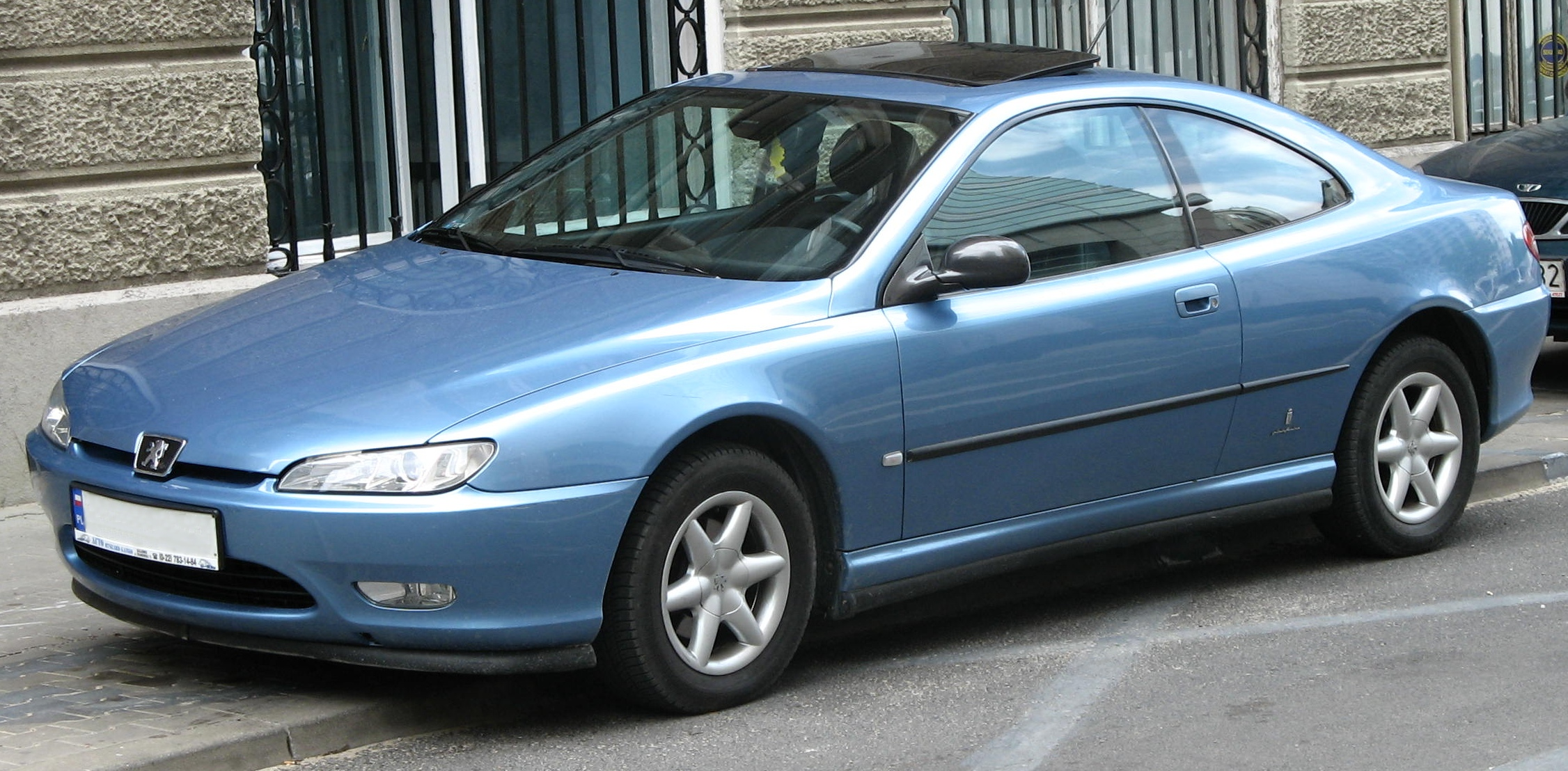 peugeot 406 coupe 2.2 #6