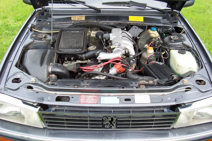 peugeot 505 turbo injection #4