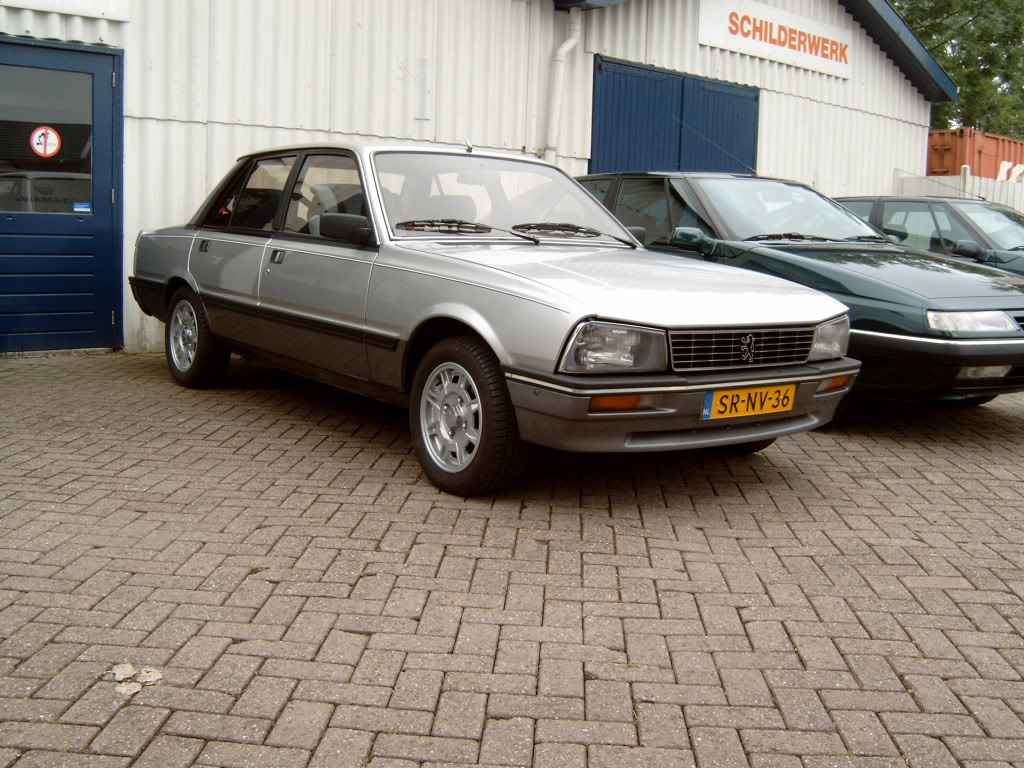peugeot 505 turbo injection #6