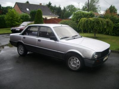 peugeot 505 turbo injection #7