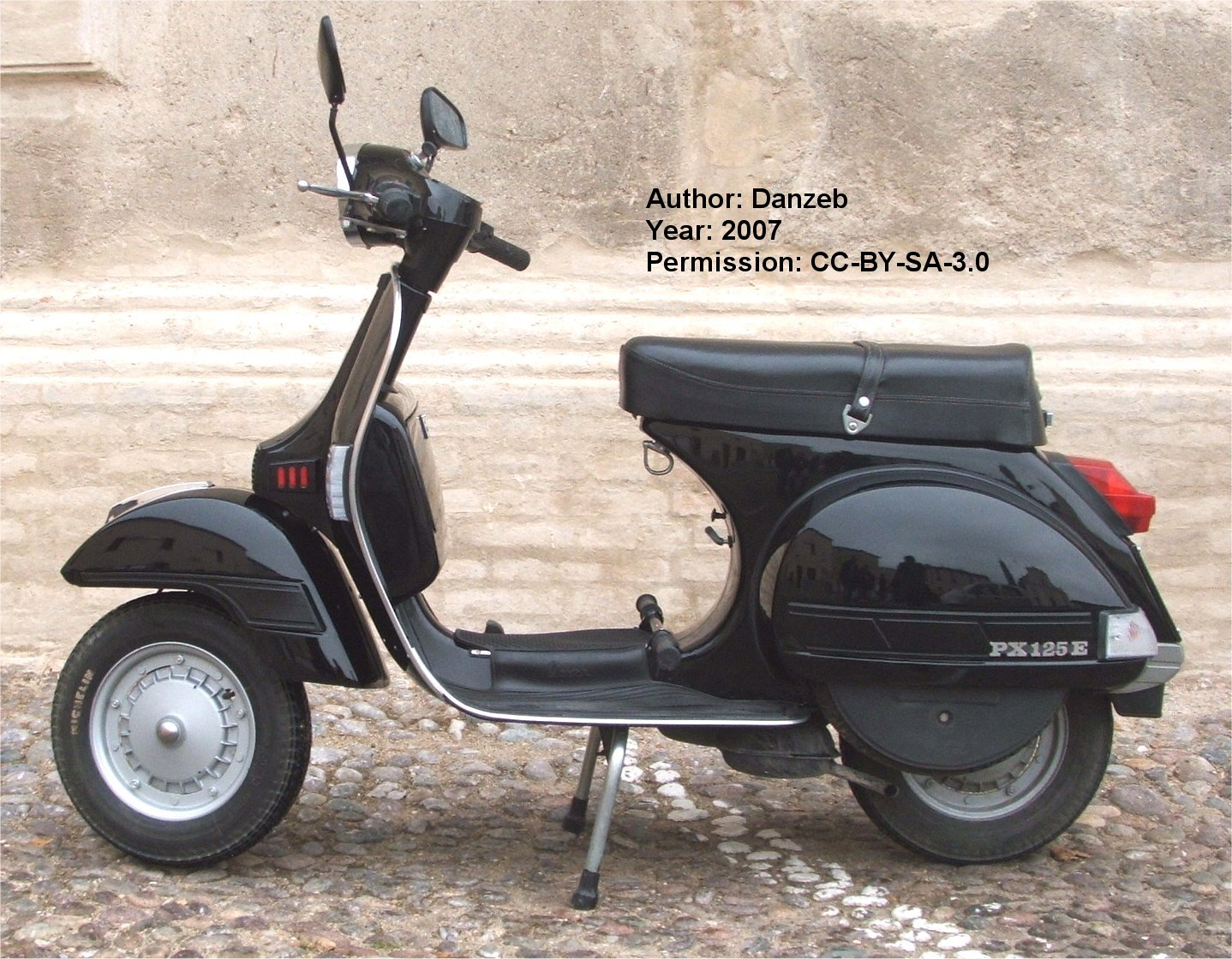 piaggio vespa px 125 photos and comments. Black Bedroom Furniture Sets. Home Design Ideas