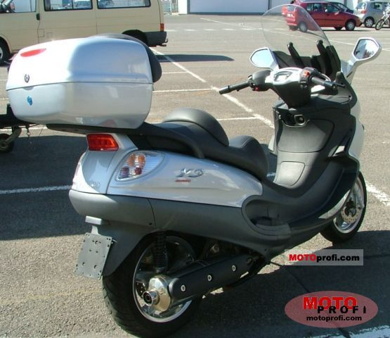 piaggio x9 500. photos and comments. www.picautos