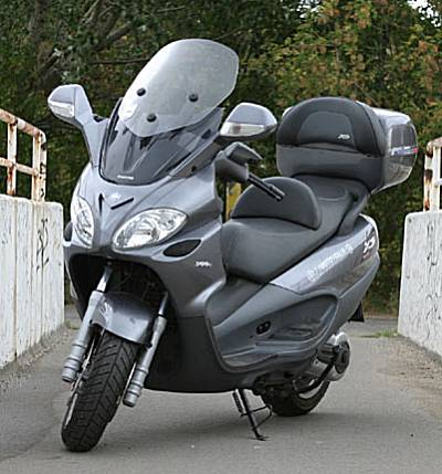 piaggio x9 evolution 500. photos and comments. www.picautos
