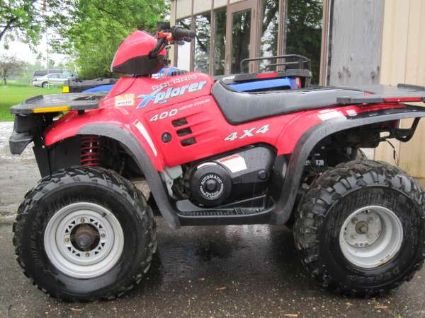 polaris xplorer 400 #8