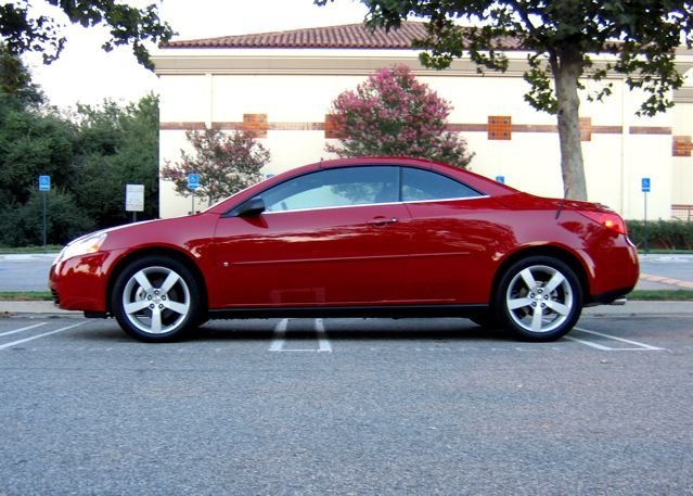 pontiac g6 gtp convertible photos and comments. Black Bedroom Furniture Sets. Home Design Ideas