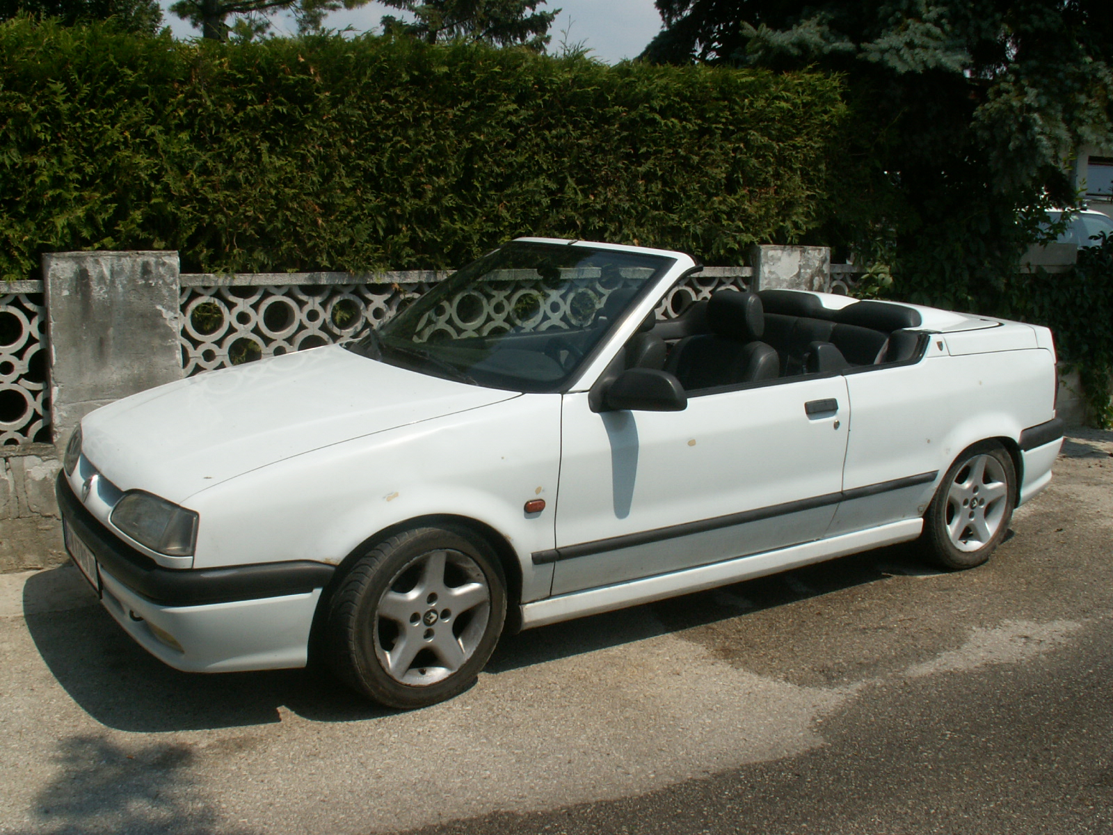 renault 19 cabriolet-pic. 2
