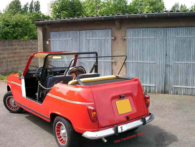renault 4 plein air photos and comments. Black Bedroom Furniture Sets. Home Design Ideas