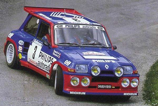 renault 5 maxi turbo #2
