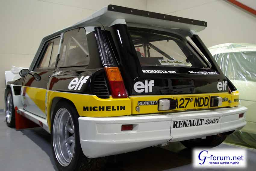 renault 5 maxi turbo #4