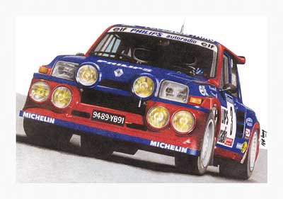 renault 5 maxi turbo #5