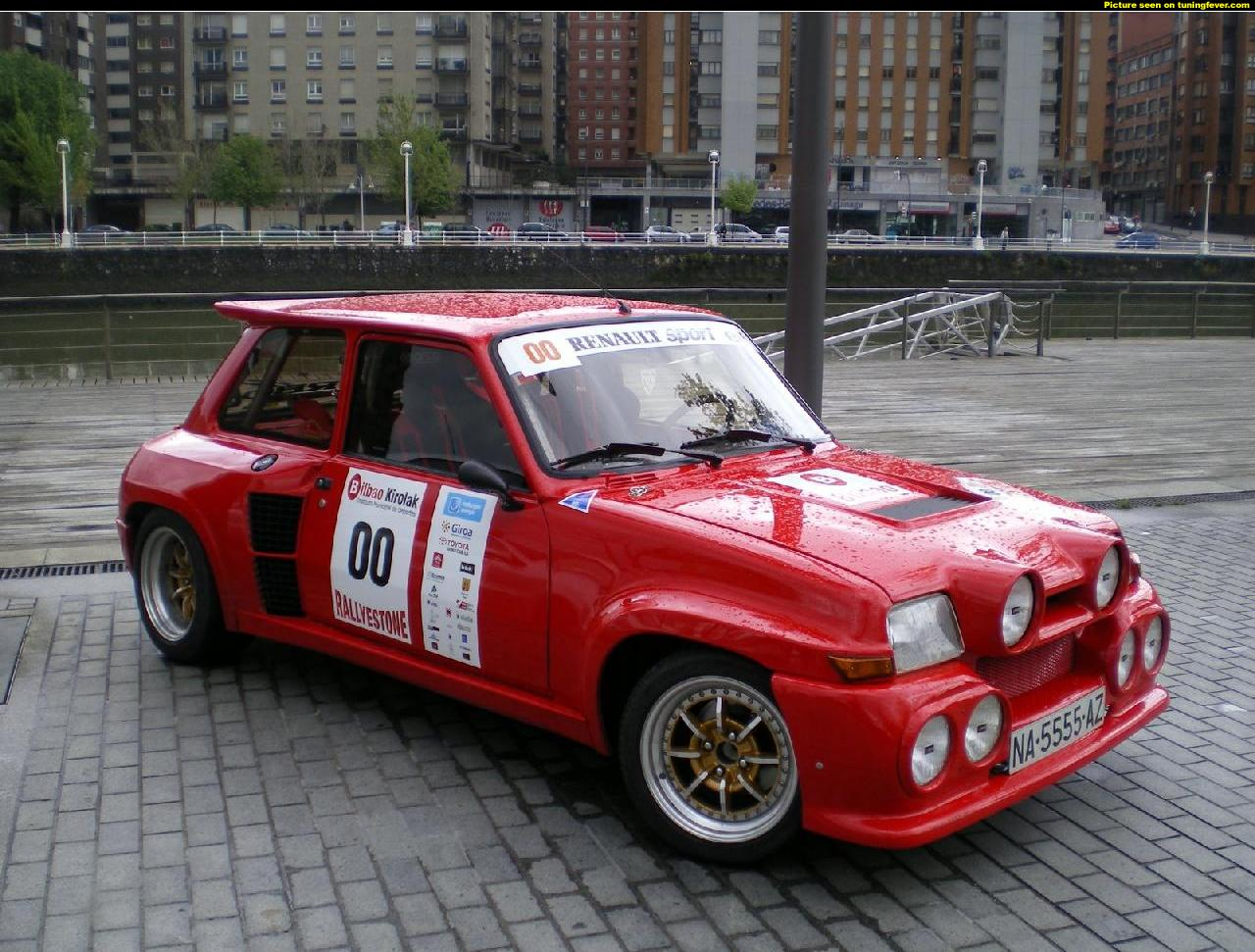 renault 5 maxi turbo #7