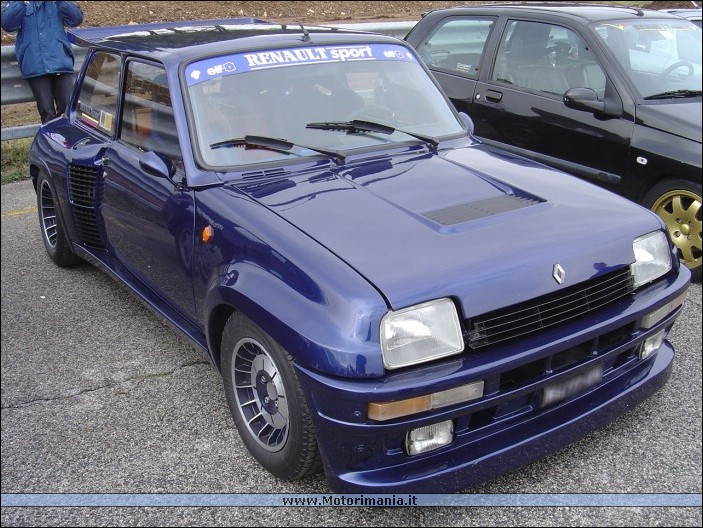 renault 5 maxi turbo #8