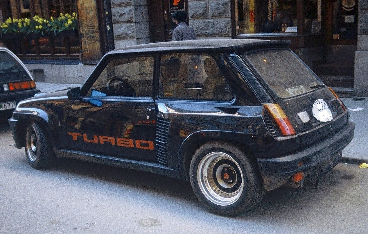 renault 5 turbo 2 photos and comments. Black Bedroom Furniture Sets. Home Design Ideas