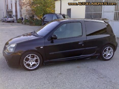 renault clio 1 6 16v photos and comments. Black Bedroom Furniture Sets. Home Design Ideas