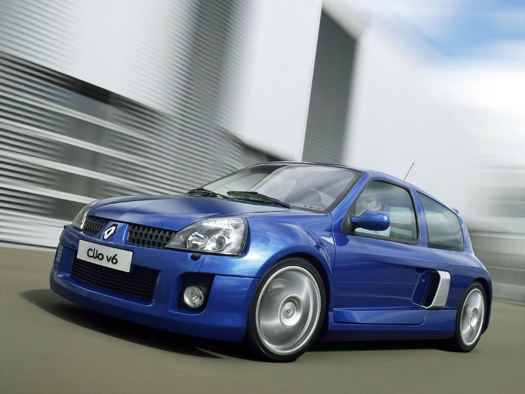 renault clio 3 0 v6 renault sport photos and comments. Black Bedroom Furniture Sets. Home Design Ideas