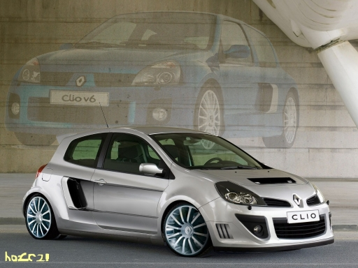 renault clio rs v6-pic. 1