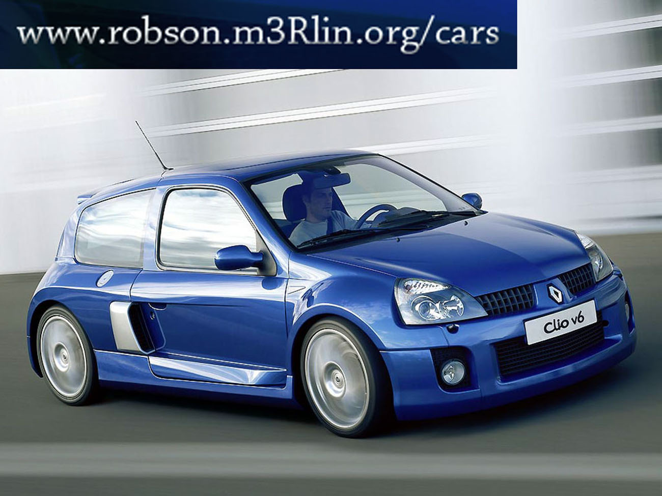 renault clio rs v6-pic. 2