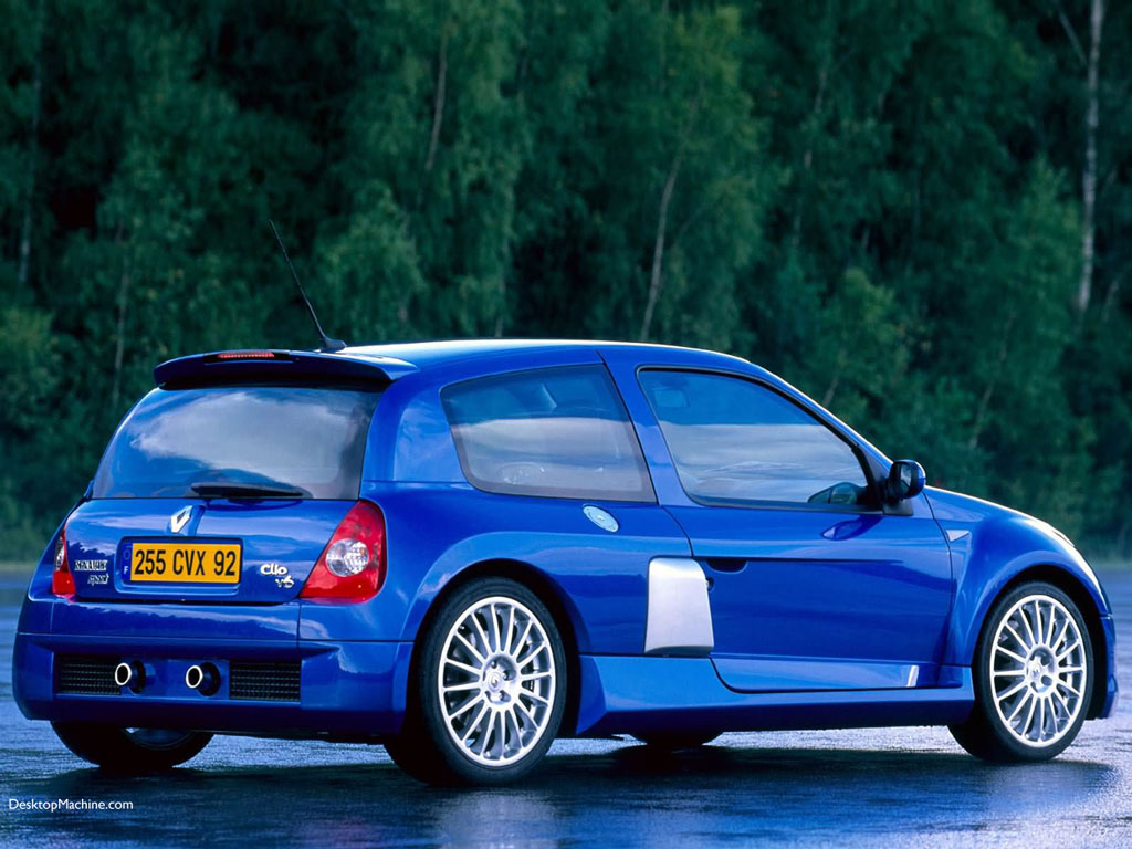 renault clio rs v6 photos and comments. Black Bedroom Furniture Sets. Home Design Ideas