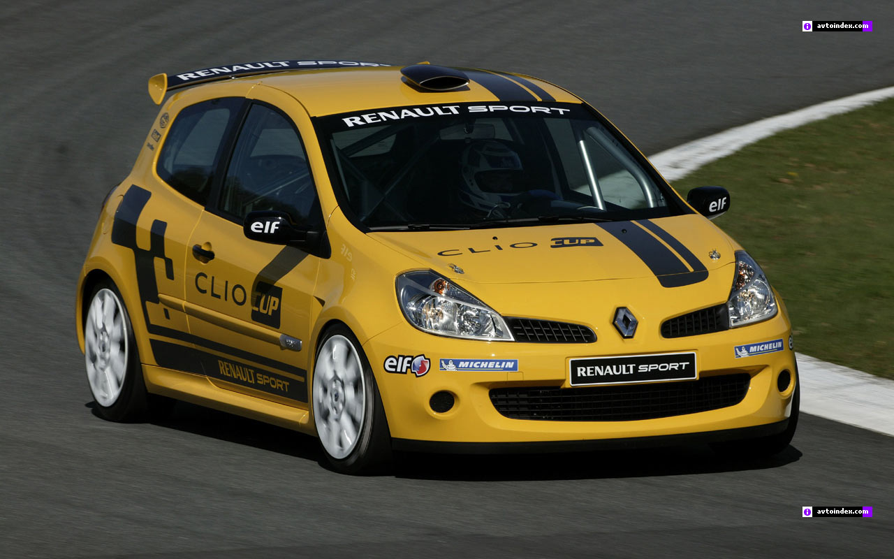 renault clio sport cup photos and comments. Black Bedroom Furniture Sets. Home Design Ideas