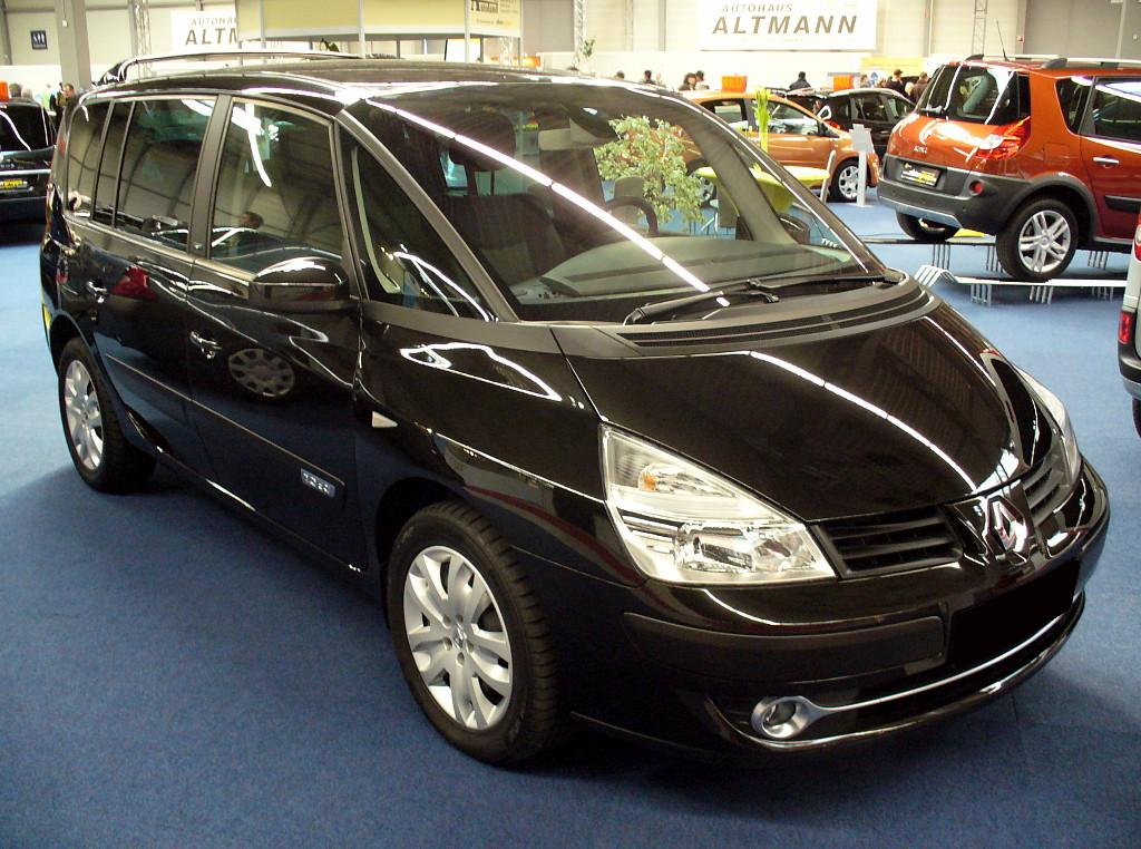 renault espace 2 2 dci photos and comments. Black Bedroom Furniture Sets. Home Design Ideas