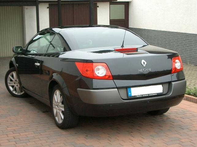 renault megane 1 9 dci coupe cabriolet photos and comments. Black Bedroom Furniture Sets. Home Design Ideas