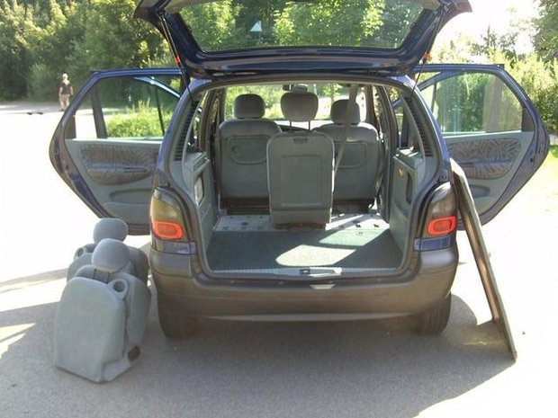 renault scenic 1 9 dci rx4 photos and comments. Black Bedroom Furniture Sets. Home Design Ideas