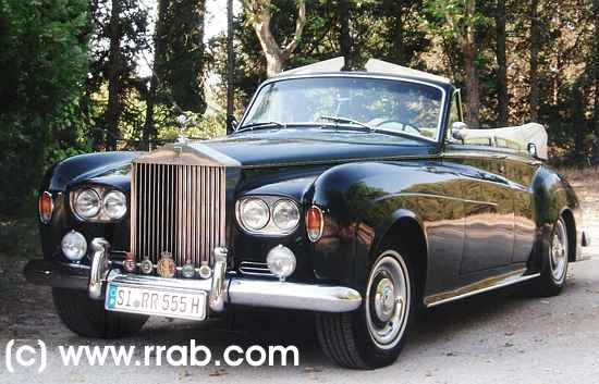 rolls-royce silver cloud iii convertible-pic. 1