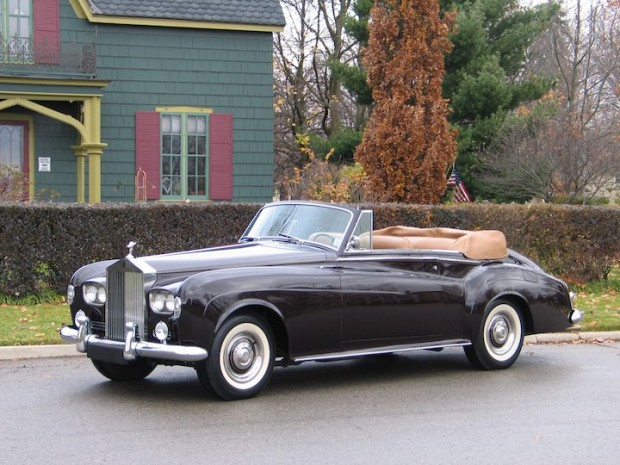rolls-royce silver cloud iii drophead coupe-pic. 1