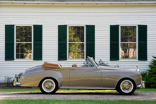 rolls-royce silver cloud iii drophead coupe-pic. 2