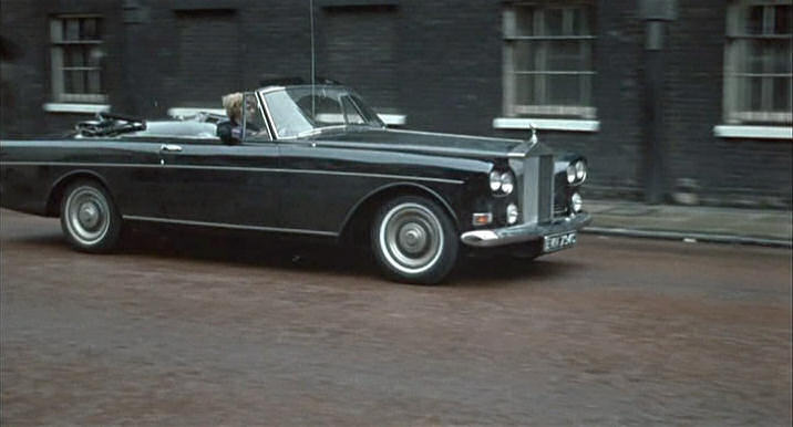 rolls-royce silver cloud iii drophead coupe-pic. 3