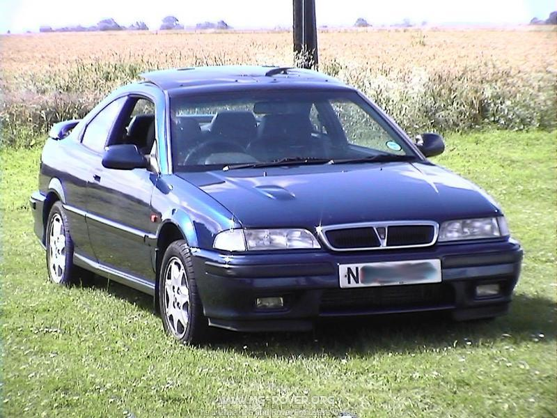 rover 200 coupe #7